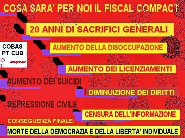 no al fiscal compact