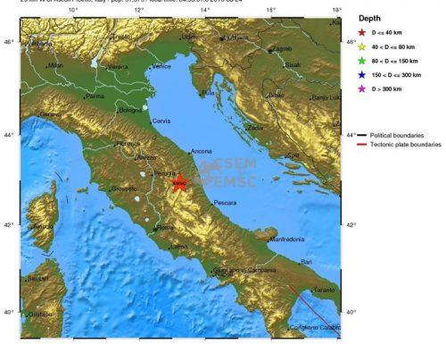Umbria,Marche,Lazio-Terremoto 6°-ore 03.03 -24-8-16