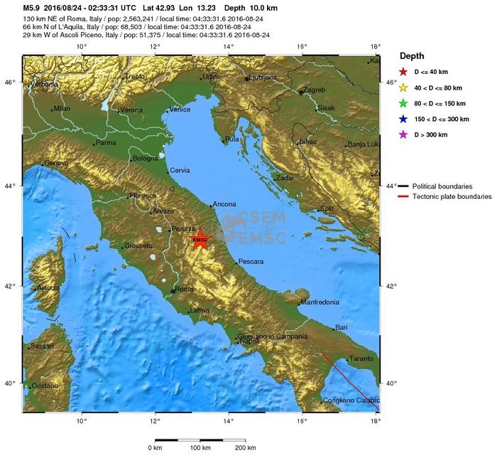 Fonte Ansa: http://www.ansa.it/sito/notizie/cronaca/2016/08/24/forte-terremoto-nel-lazio-paura-a-roma_d336774d-3373-40df-b6eb-100d55fbc5f8.html