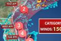 Live: Tracciatura spaziale Hurricane Dorian in tempo reale!