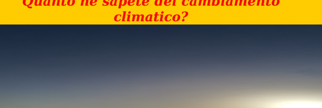 test climate change