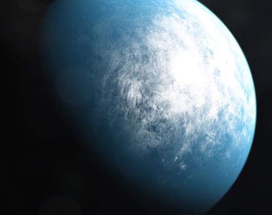 Waterworld:TOI 700 d, il primo pianeta a misura di zona abitabile.
