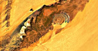 """Tra scienza e miti:""""La Struttura di Richat"""" l'occhio del Sahara."""